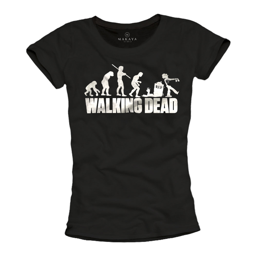 Damen Shirt - Walking Dead