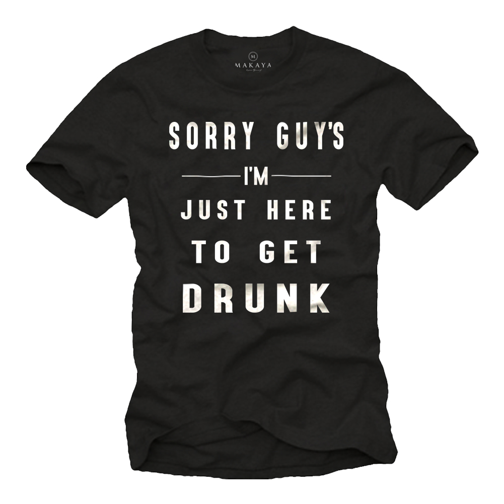 Herren T-Shirt - Sorry Guy's Motiv