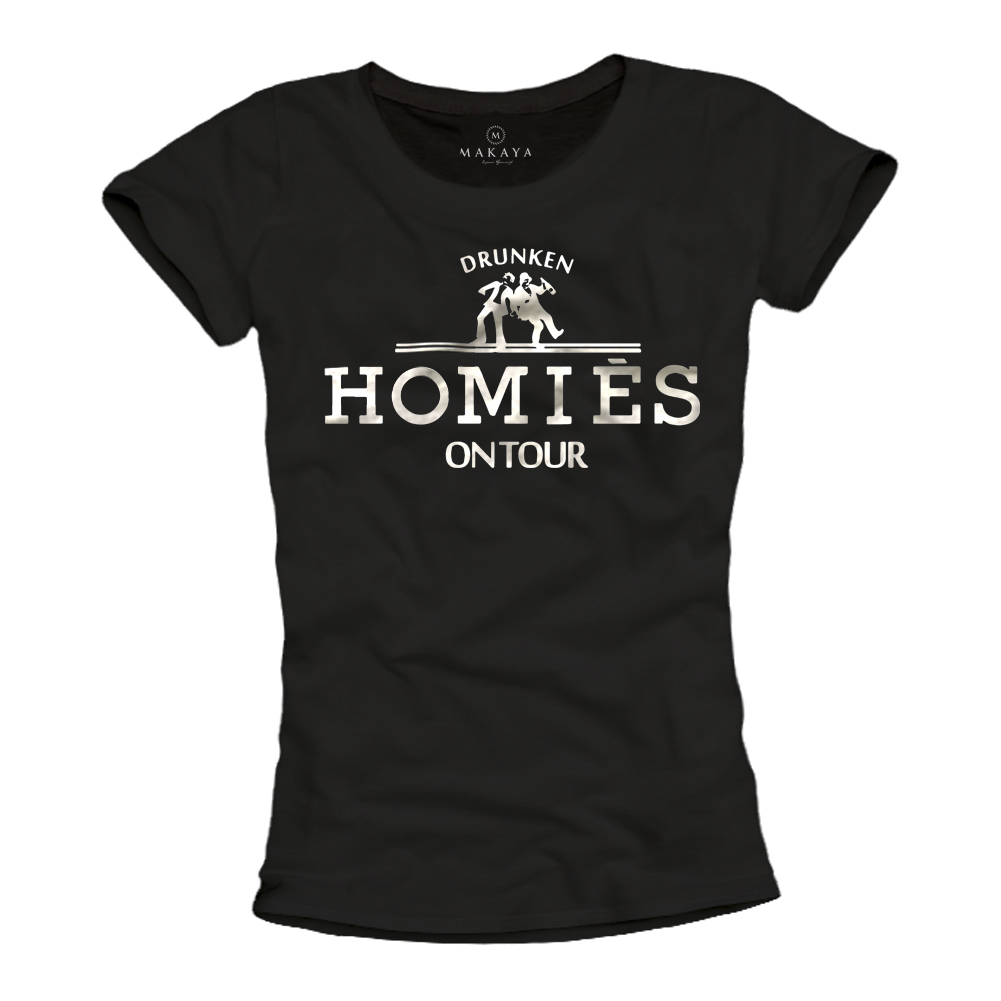 Drunken Homies Damen Shirt