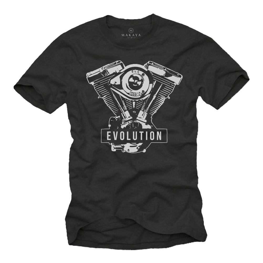 Herren T-Shirt - Evolution Motor
