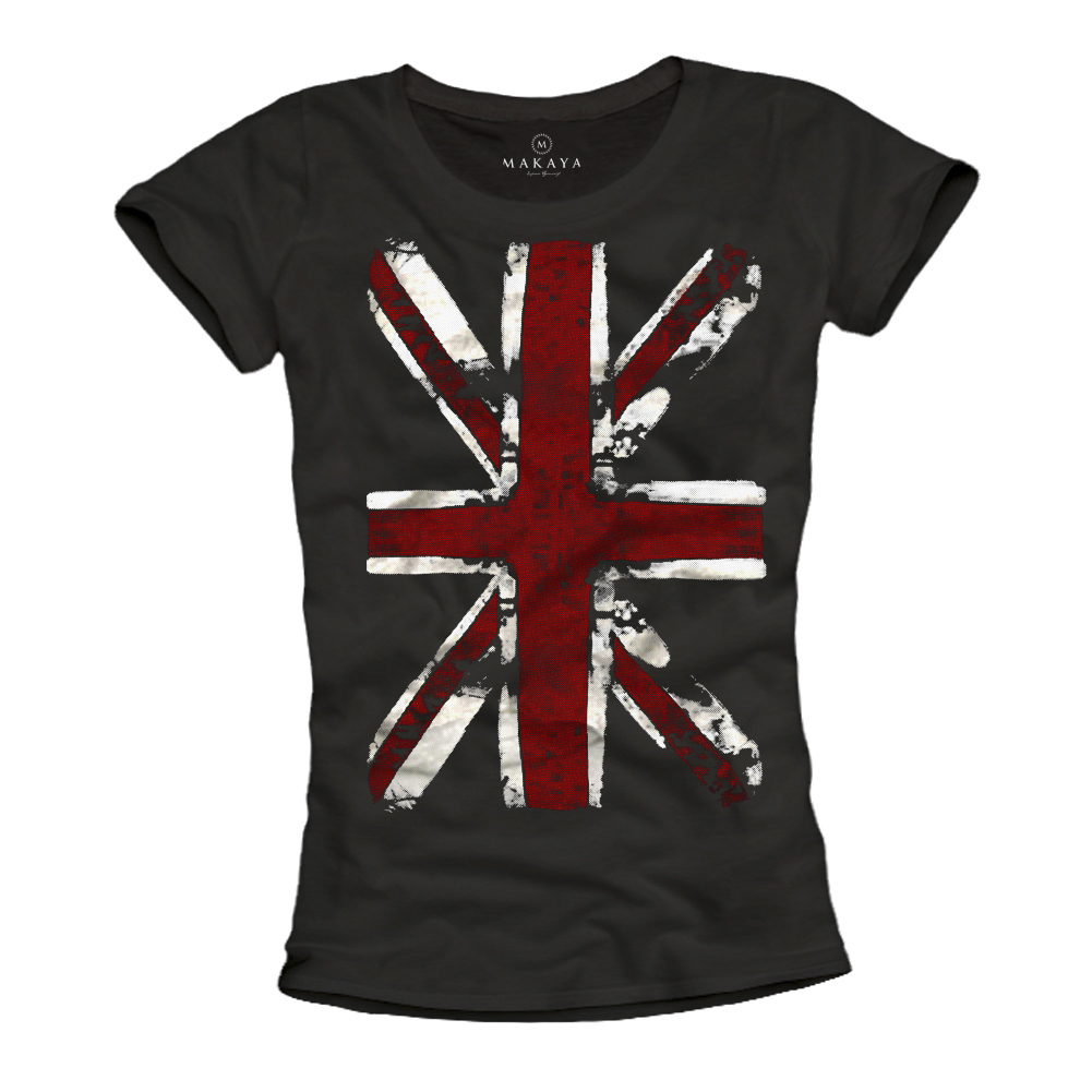 Damen Shirt - Union Jack