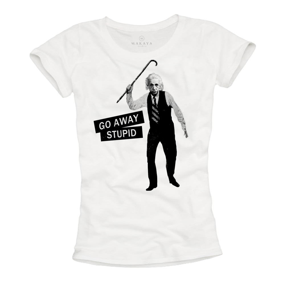 Damen Shirt - Albert Einstein