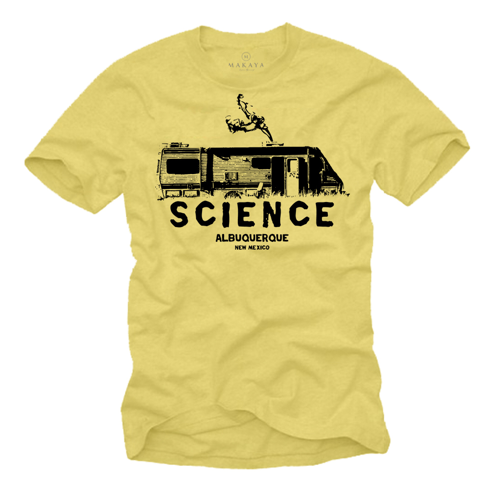 Herren T-Shirt - Science Motiv- New Mexico