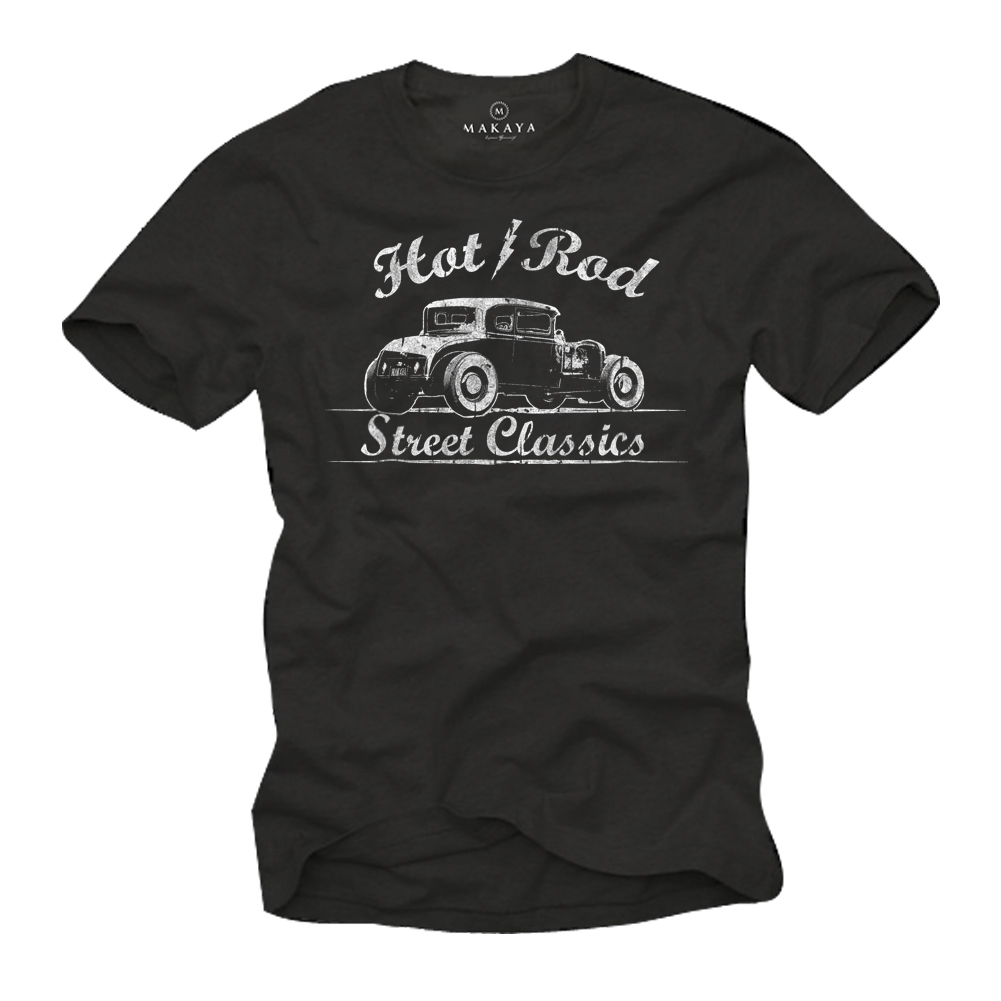 Herren T-Shirt - Hot Rod Motiv